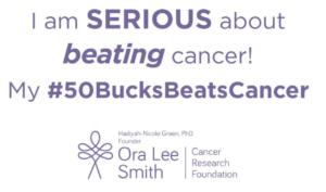 #50BucksBeatsCancer