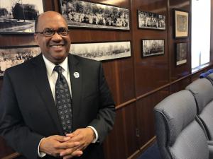 Dr. Everett Ward, Alpha Phi Alpha President